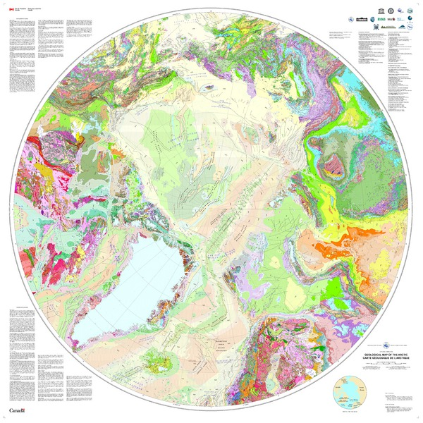 Geological Map of the Arctic