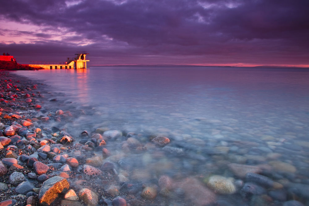 Photo of Galway Bay as viewed from the Promenade by Anthony Patrick Saoud, courtesy Shutterstock.