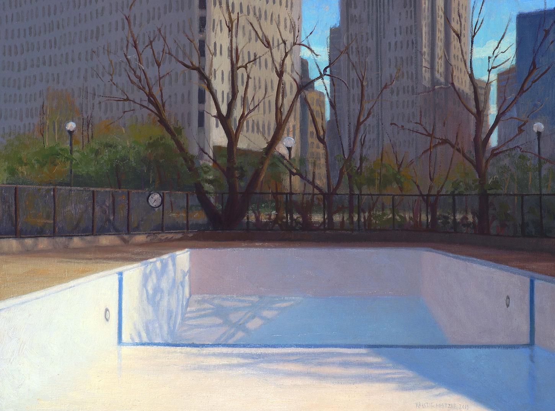 Poolscape 1, by Kristie Bretzke