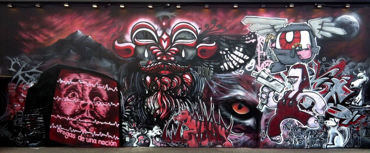Mural by Jake Seven.