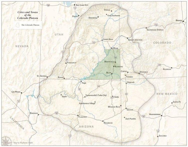 Map of San Juan County