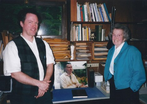Kim and Dorothy in William Stafford's study