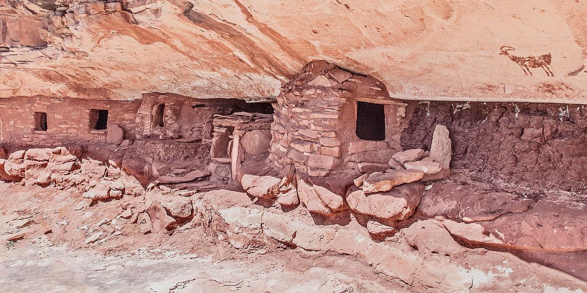 Pre-Puebloan structure