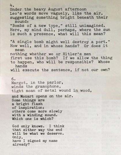 Einstein poem, from 1983