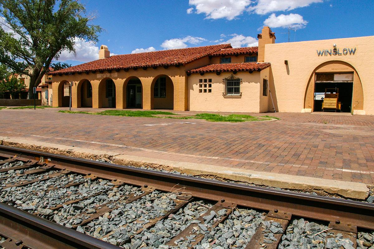Winslow La Posada train depot