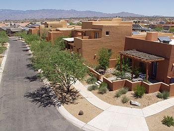 Civano solar rooftops.