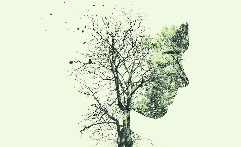 Tree as woman / woman as tree