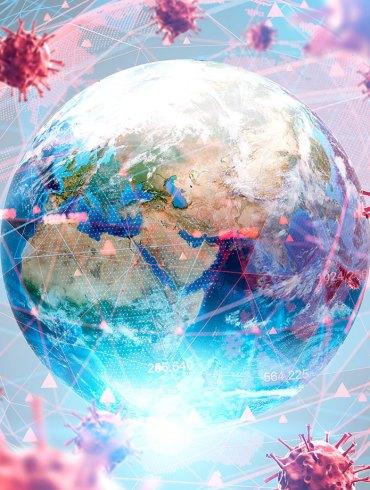 Coronavirus and globe