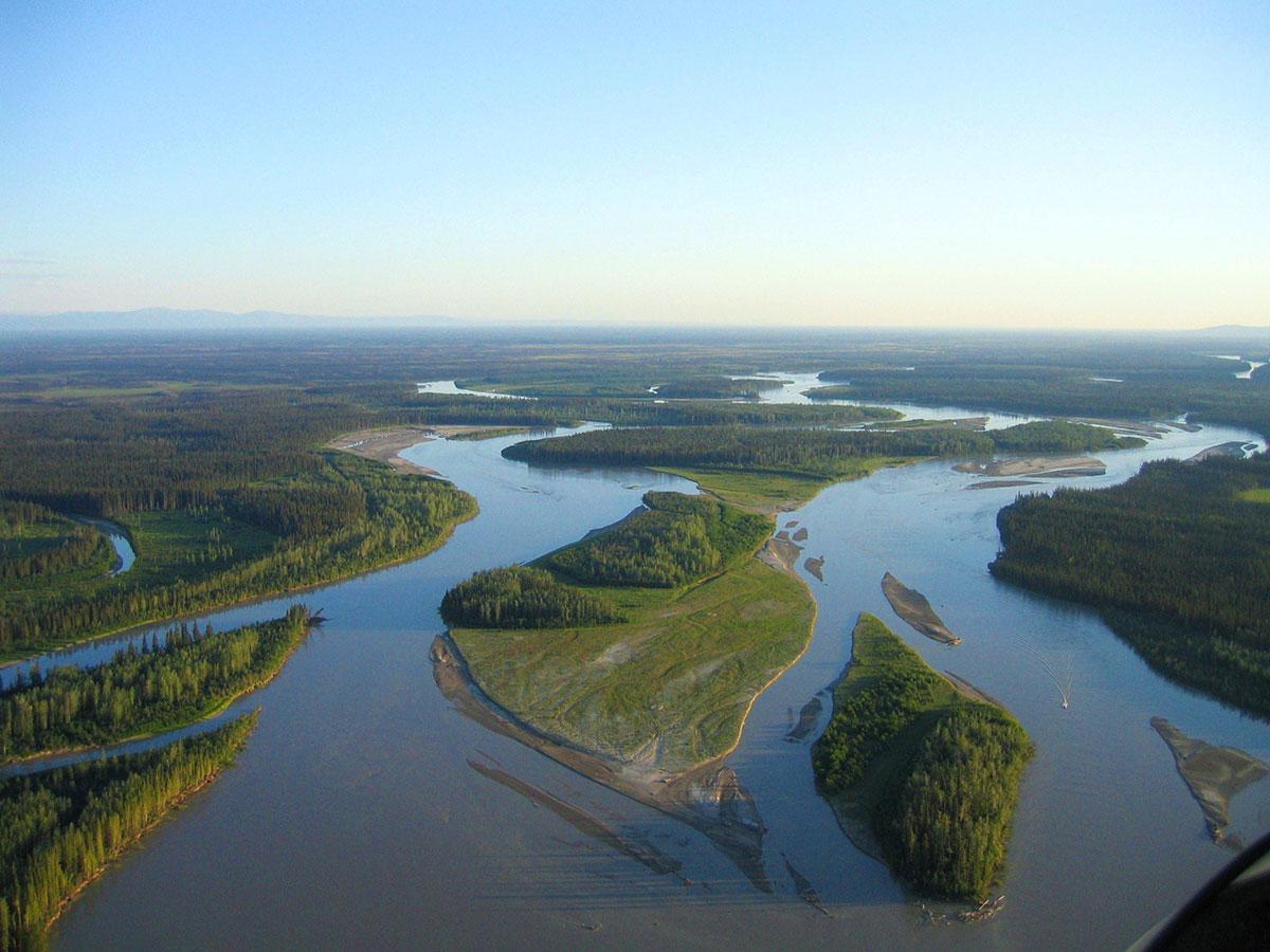Tanana River at Bonanza Creek Experimental Forest