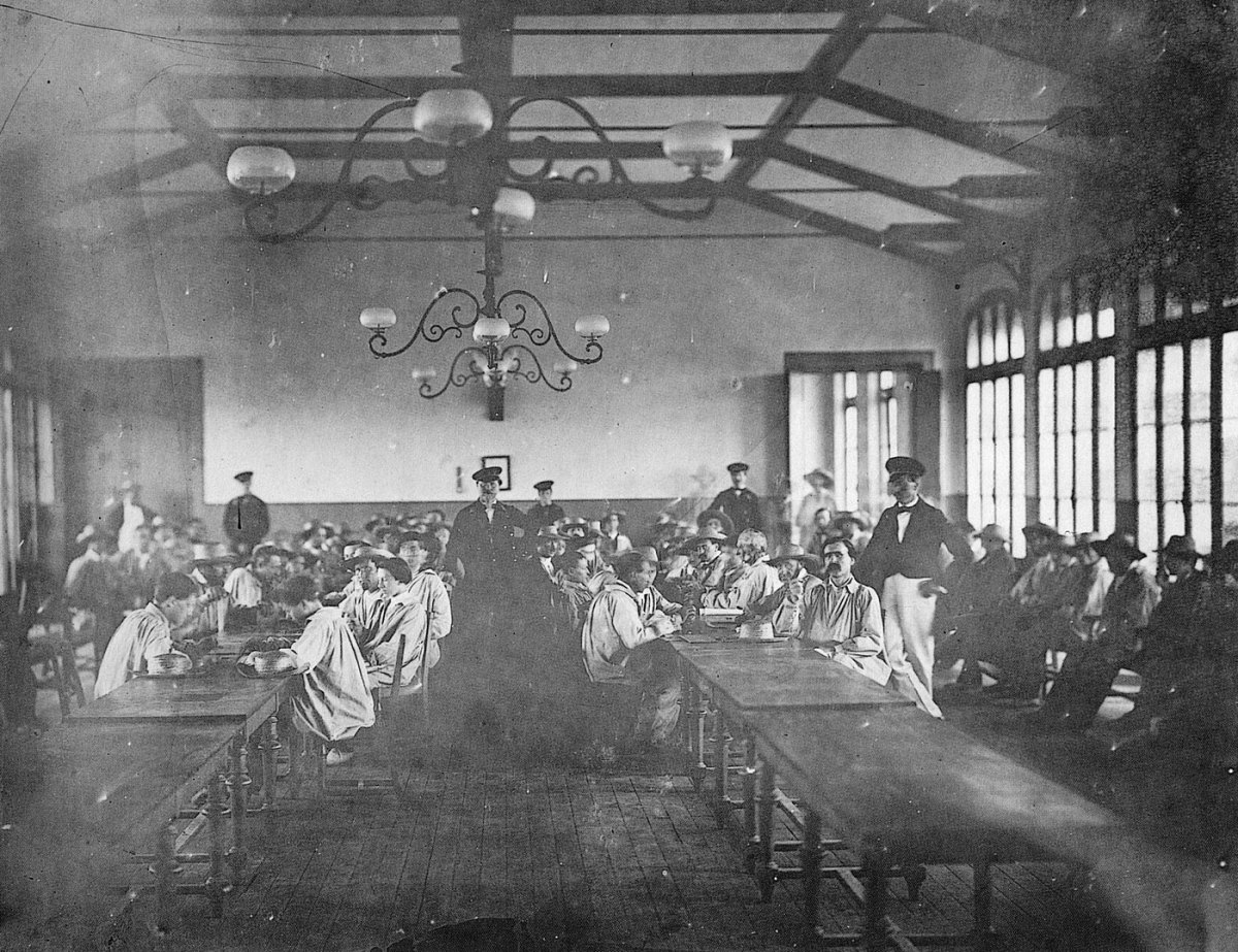 The Recreation Room, Vincennes Imperial Asylum, 1858-9