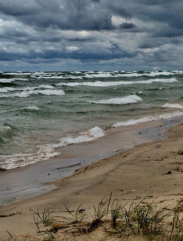 Lake Michigan in November