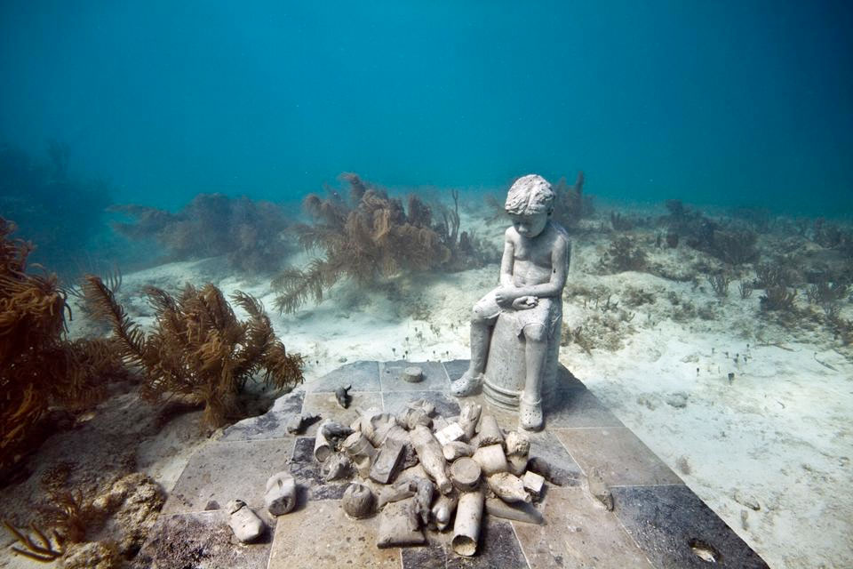 """""""Inheritance"""" by Jason deCaires Taylor"""