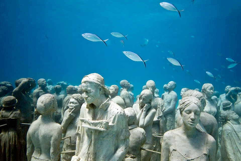 """""""Silent Evolution"""" by Jason deCaires Taylor"""