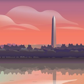 Washington Monument illustration