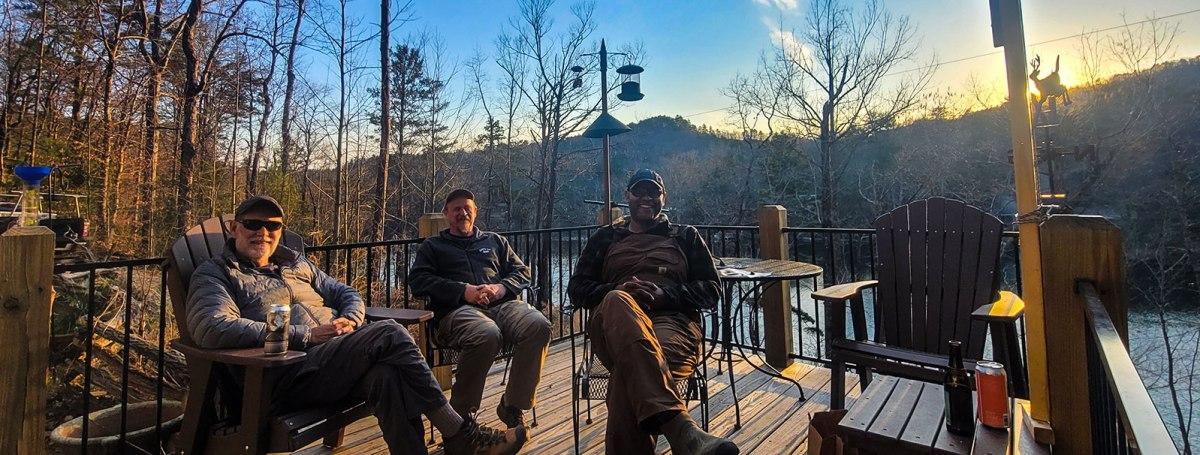 John Lane, David Taylor, and J. Drew Lanhamp and Sunset Camp