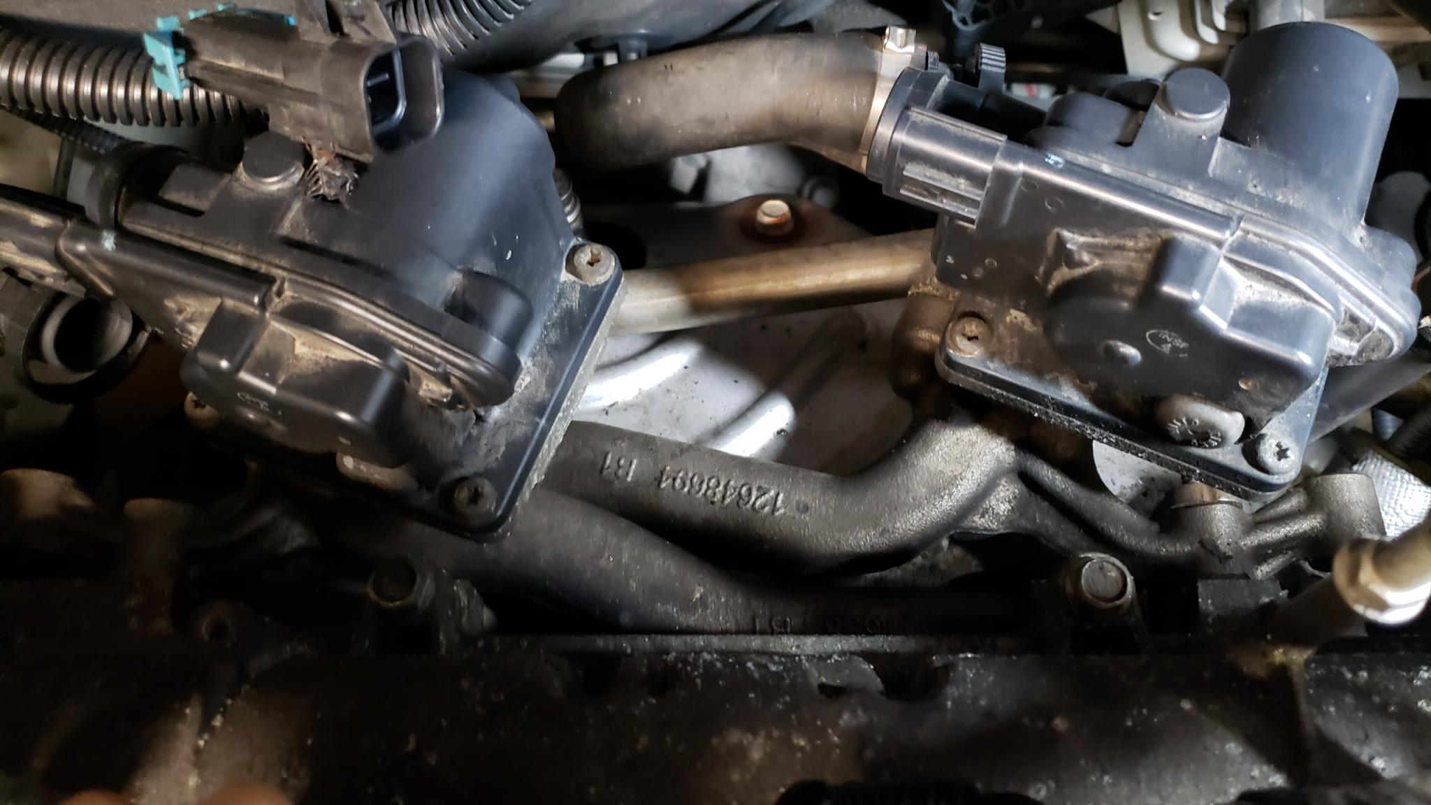 2013 equinox exhaust manifold gmc