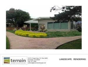 Landscape Design Rendering Services