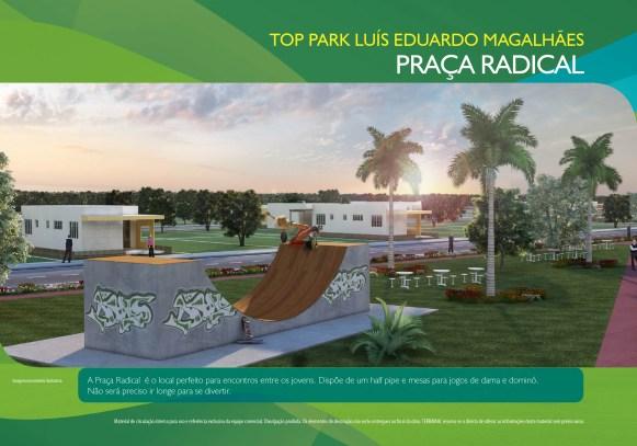 Loteamento Top Park - Terramac Empreendimentos - Praça Radical