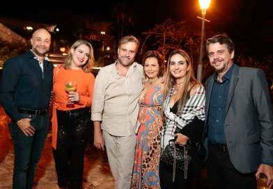Luiz Paulo de Souza Leão celebra aniversário ao ar livre no Engenho Novo da Conceição