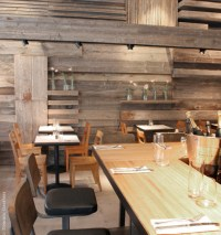 Check out how rustic wood paneling for walls brings a ...