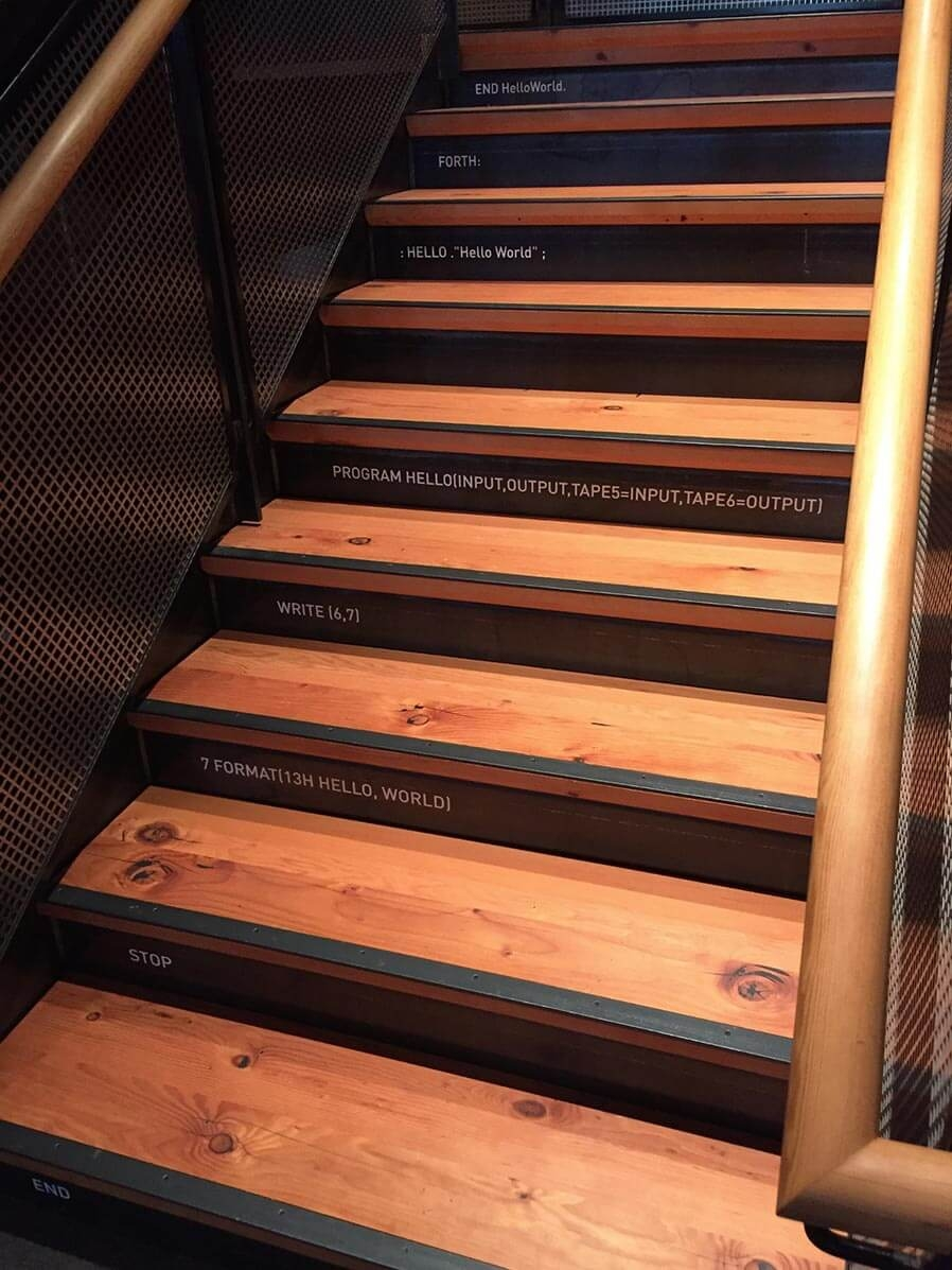 Rethinking The Humble Stair Tread 8 Reclaimed Wood Stair Tread   Reclaimed Wood Stair Treads   White Oak   Wood Plank   Straight Edge Wood   Lumber   Adhesive Padding 31 Wide Tread Single 10 Deep