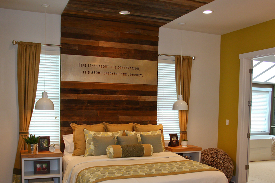 Extreme Makeover Home Edition Reclaimed Wood Paneling