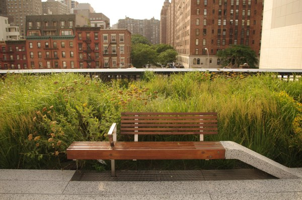 high line - reclaimed teak