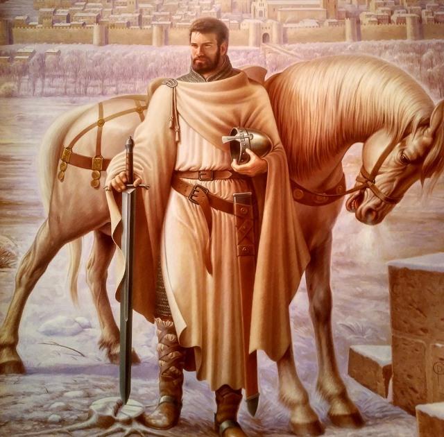 Babieca, el caballo del Cid Campeador