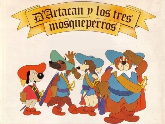 D'Artacan, protagonista de la serie junto a los tres mosqueperros