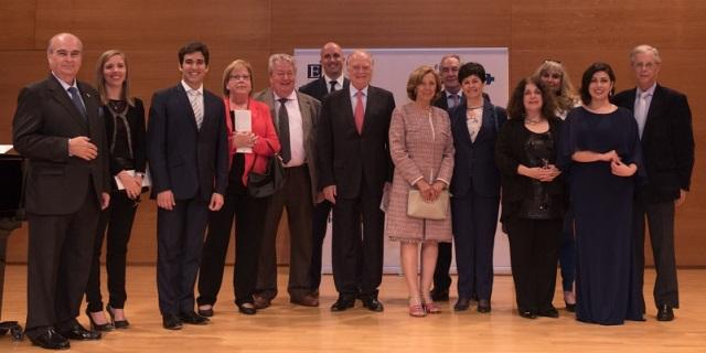 Personalidades y artistas presentes en el concierto de la Fundación Albéniz y ASISA