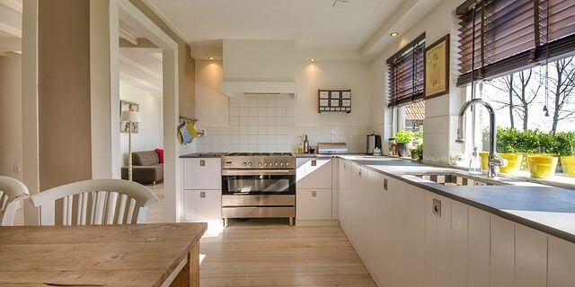 Mobiliario de una cocina.