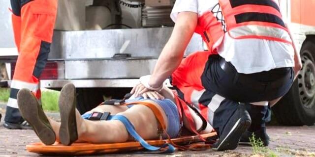 Imagen de archivo de un heridos en accidente de tráfico