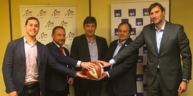 AXA y Asociación de Baloncestistas Profesionales en la firma que amplía su alianza