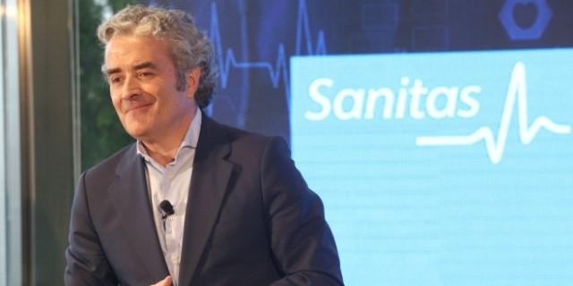CEO de Sanitas presentando los resultados y el récord de ingresos registrado durante el último ejercicio en el que han superado la barrera de los 2.000 millones