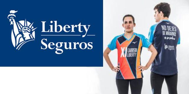 La nueva camiseta equipo promesas paralímpicas para la XI Carrera Liberty
