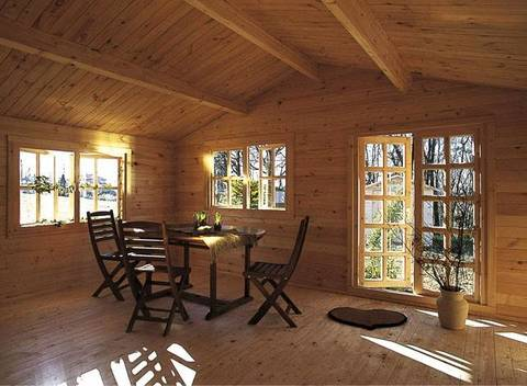 Casa di legno S grazie  Terra Nuova