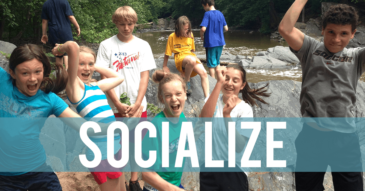 Summer Camp Socialize