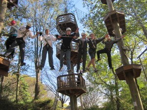 Therapeutic Challenge Courses Team Building