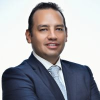Yaarob Al-Sayegh speaking at Telecoms World Middle East