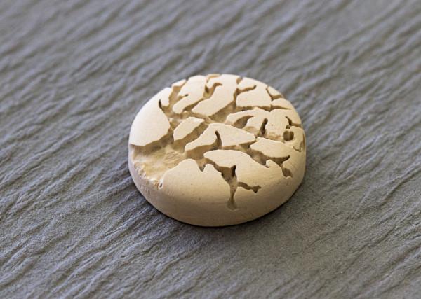 finished sandblasted ceramic mold