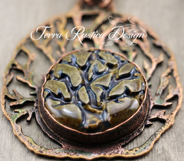 Deep Roots tree of life necklace