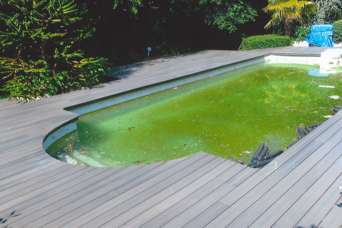 Plage De Piscine En Bois Composite Terrasse Composite Perpignan