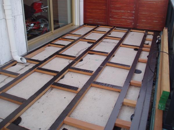 lambourde pour terrasse