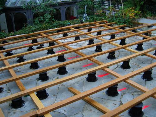 Monter Une Structure En Bois Sur Cales Pvc Reglables Pour Ma Terrasse En Bois