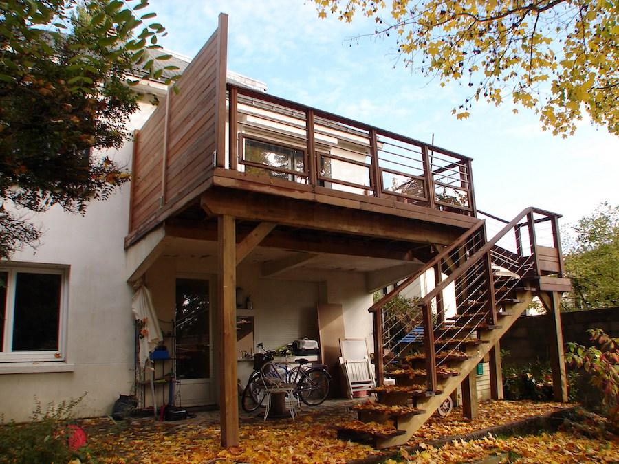 Profitez Au Maximum De L Exterieur Avec Une Terrasse En Extension De Balcon