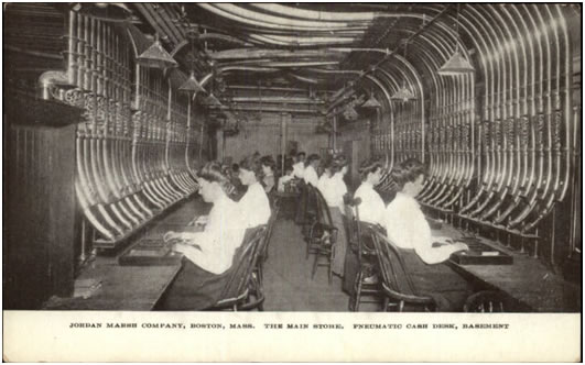 Image result for department store pneumatic air tube systems