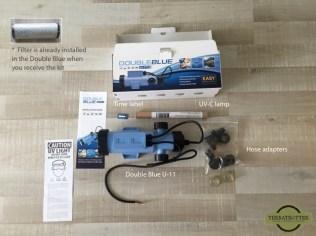 Double Blue U-11 - complete kit