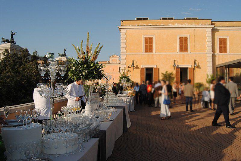 Terrazza Caffarelli Roma  Al Campidoglio nel cuore della capitale la location per eventi
