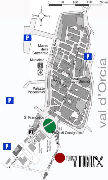 Ristorante Terrazza val dOrcia  Cucina Toscana  Pienza