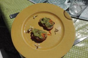 image entrée crok midi du 20 avril guacamole
